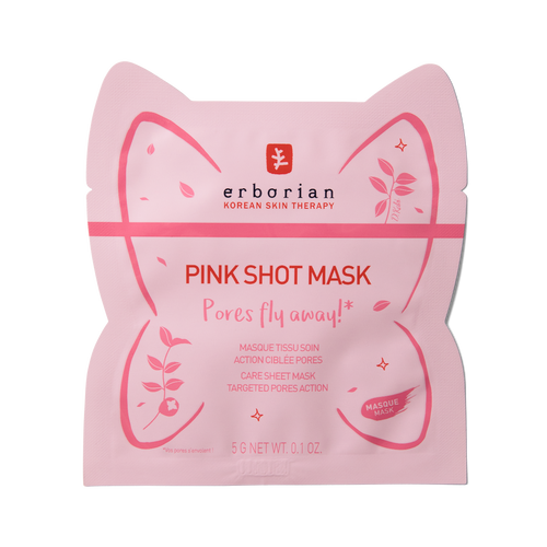 zoom view 1/2 of Pink Shot Mask